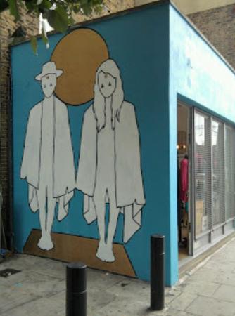 Wall Mural. Hackney. 2010